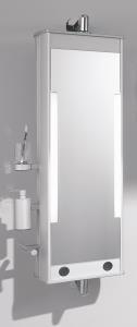 spiegel und ablagen. Black Bedroom Furniture Sets. Home Design Ideas